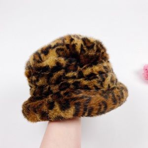 💖 SOLD 💖 Vintage Parkhurst Leopard Faux Fur Hat